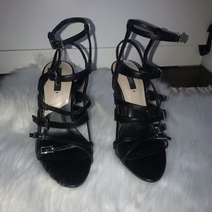 Zara Basic Collection cage heels